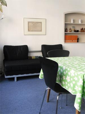 Unser Beratungszimmer in der Löwen Apotheke Basel